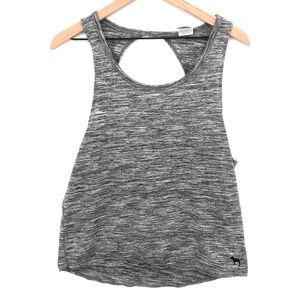 PINK by Victoria's Secret space dye grey workout